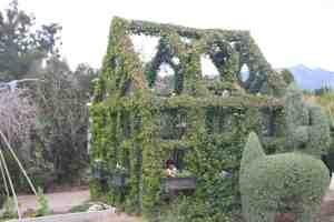 Maison en topiaire