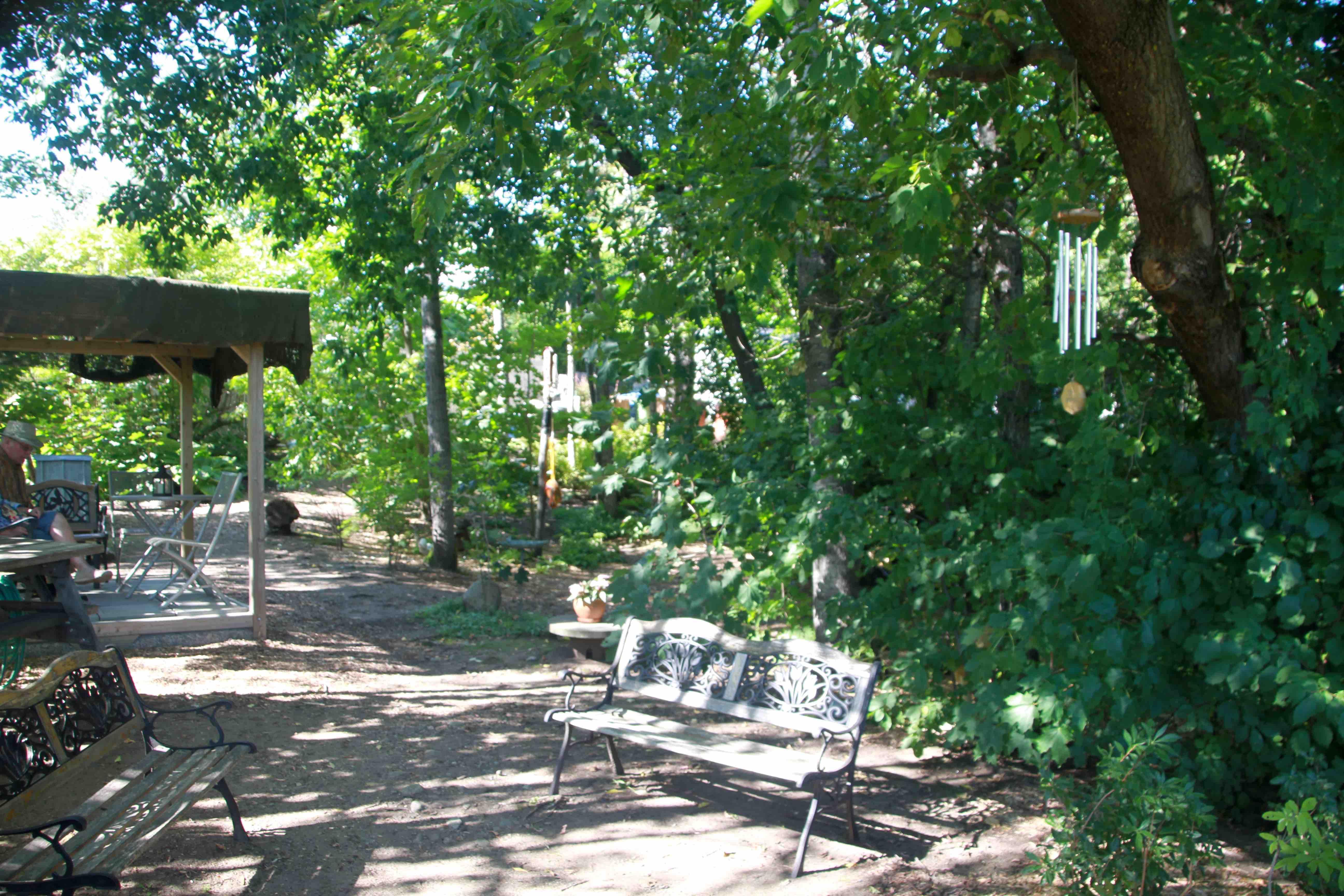 Photos de voyage jardinier paresseux for Restaurant le jardin st paul