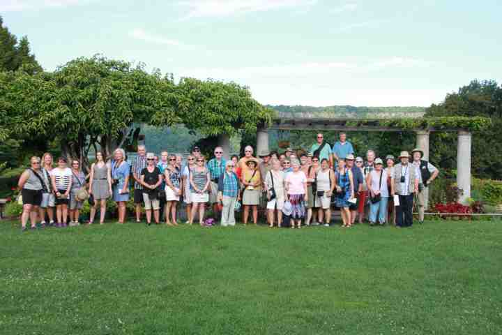 Photo de groupe jardins de New York 2016A