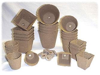 godets de tourbe pour semis fragiles jardinier paresseux. Black Bedroom Furniture Sets. Home Design Ideas