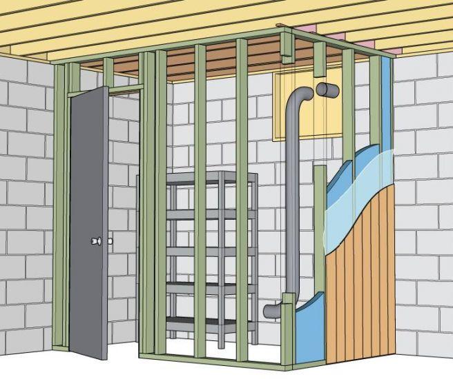Construire chambre froide maison for Construction chambre froide positive