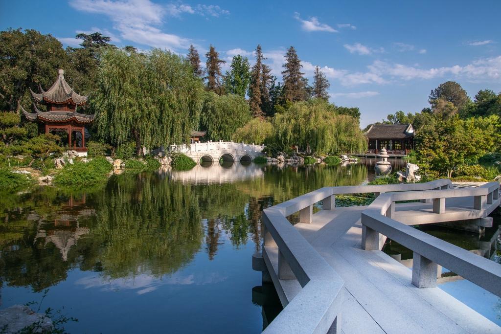 Lac aux parfums, jardin chinois, Jardin Huntingdon