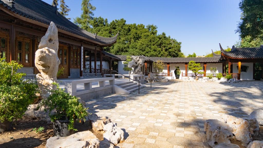 Cour d'assemblée des notables, , jardin chinois, Jardin Huntingdon