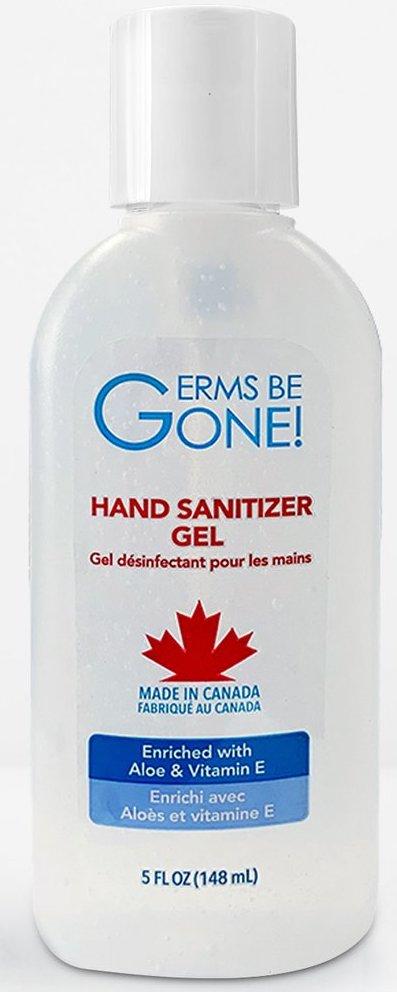 Bouteille de disinfectant pour les mains