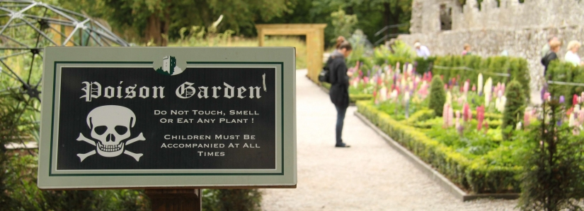 Poison Garden au chateau de Blarney